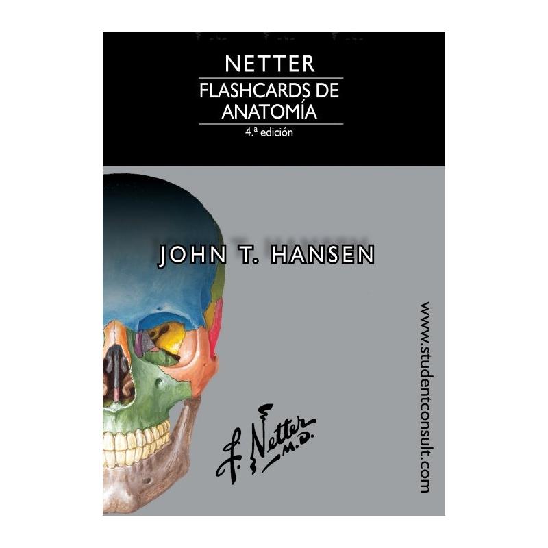 Flashcards de Anatomía. Netter - Librería Médica Orizaba