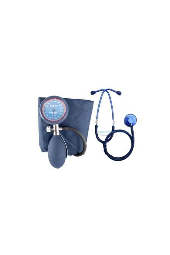 Kit de Baumanómetro Integral y Estetoscopio Simple