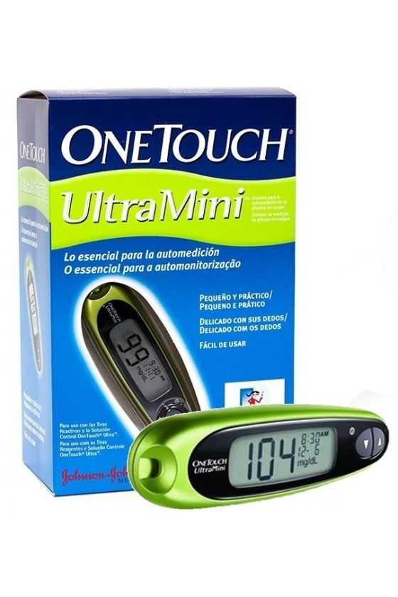 Glucómetro One Touch Ultra Mini