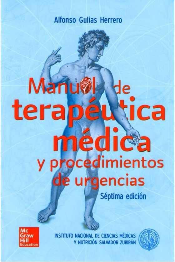 Manual de Terapéutica Médica. Zubirán