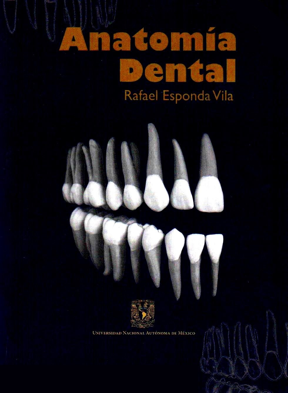 Anatomía Dental. Esponda - Librería Médica Orizaba