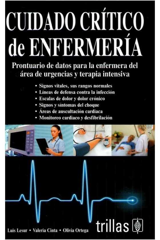 Cuidado Crítico de Enfermería. Lesur