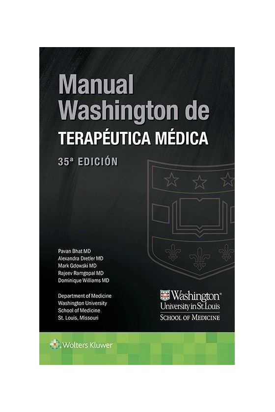 Manual de Terapéutica Médica. Washington