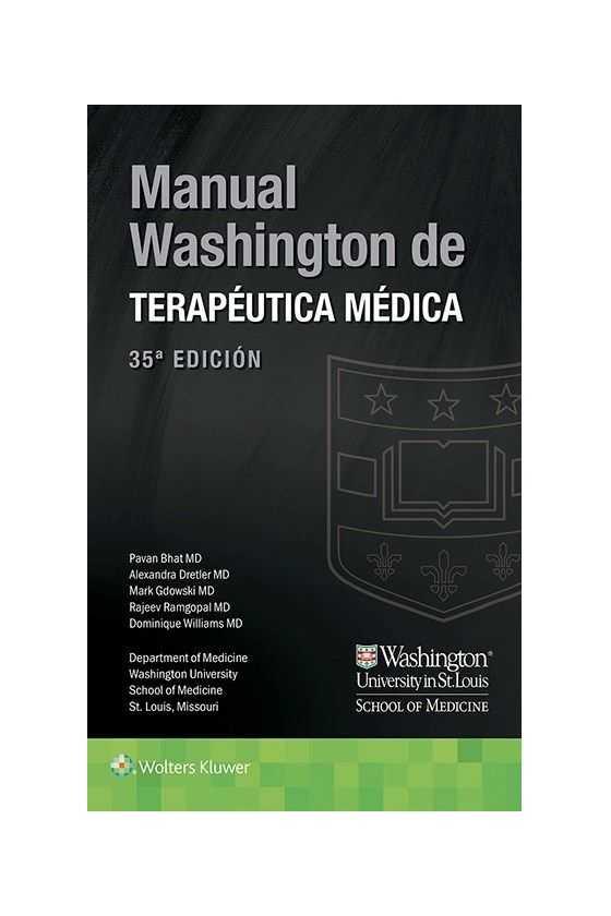 Manual de Terapéutica Médica. Washington