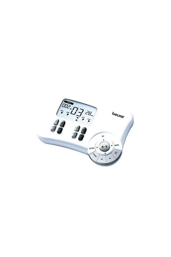 Electroestimulador de Pulso Tens  2  Canales  EM80