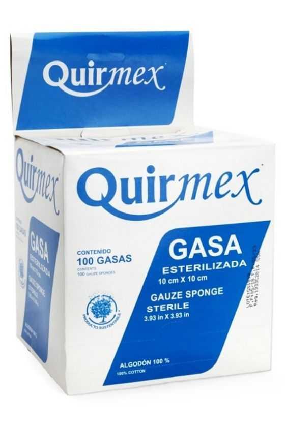Gasa Estéril Quirmex 10 x...