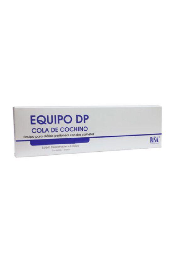 Catéter de Diálisis Peritoneal Cola de Cochino