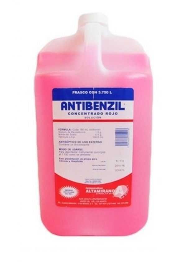 Antibenzil Concentrado Rojo...