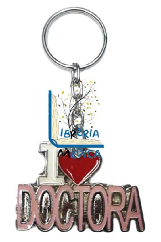 Llavero I Love Doctora Rosa