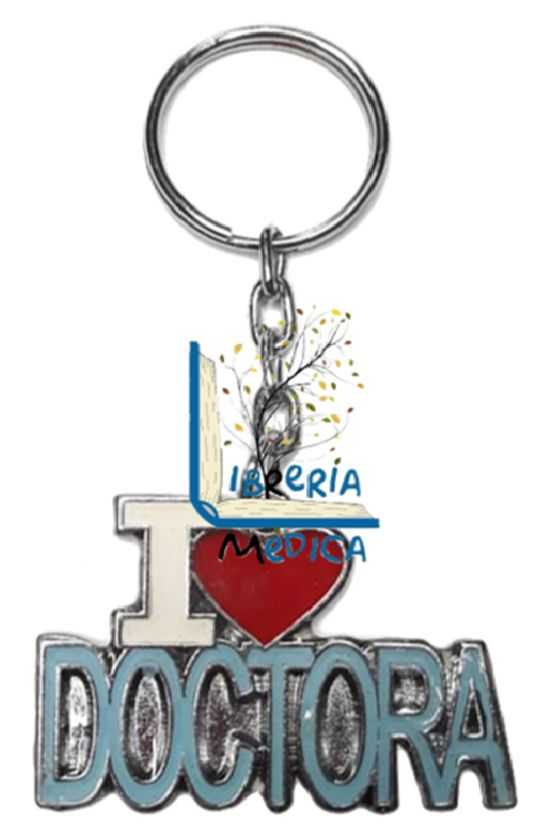 Llavero I Love Doctora Azul...