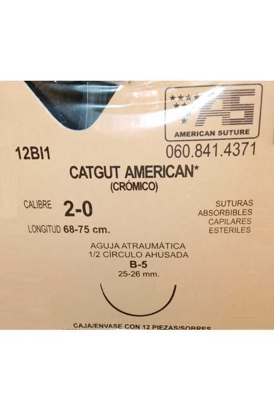 Sutura Catgut Crómico Caja