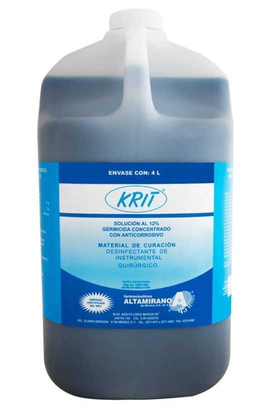 Krit Concentrado Galón 4 L