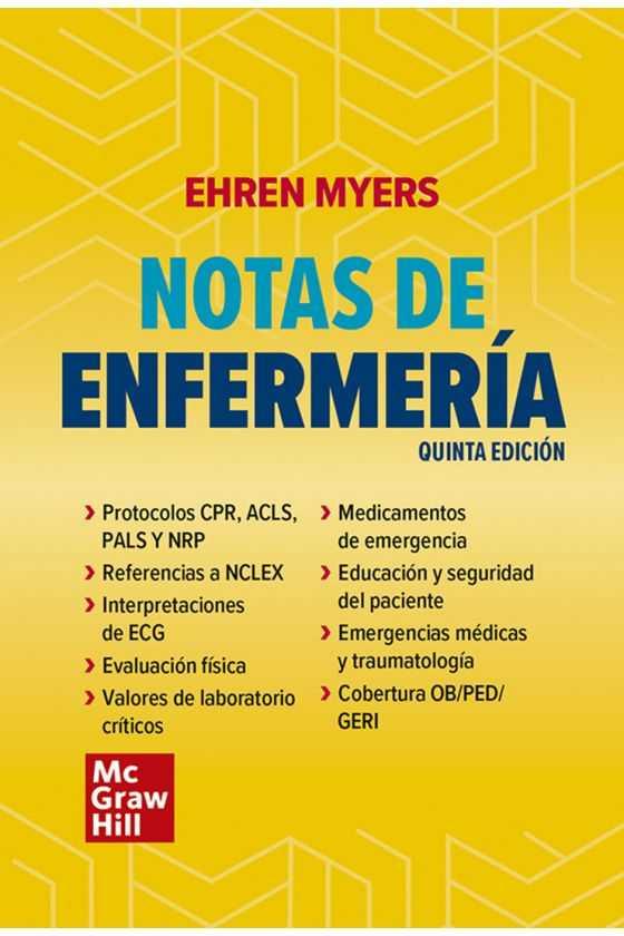Notas de Enfermería. Myers