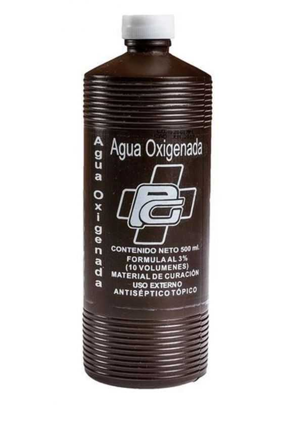 Agua Oxigenada 500 ml