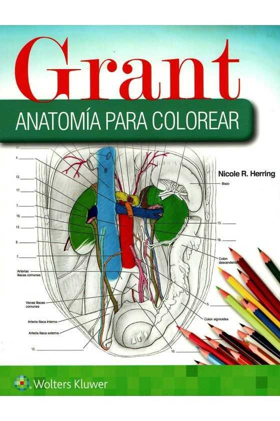 Grant. Anatomía para Colorear
