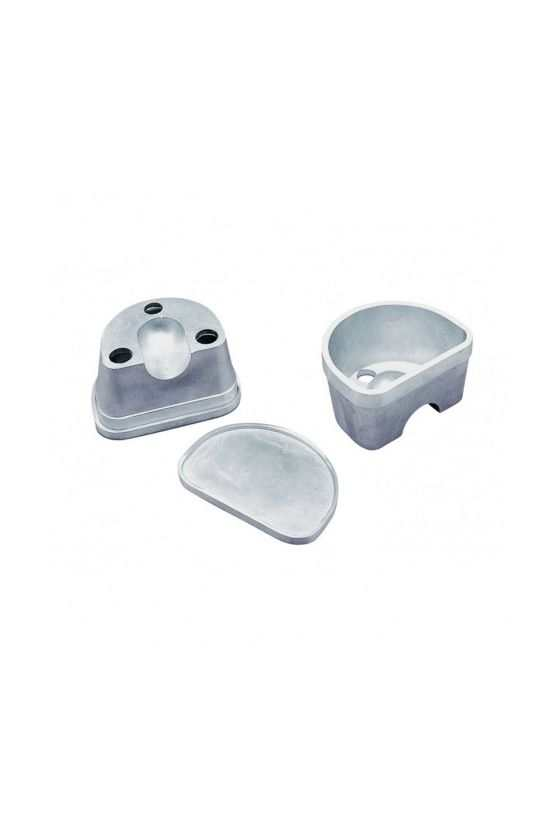 Mufla Duplicadora - Aluminio