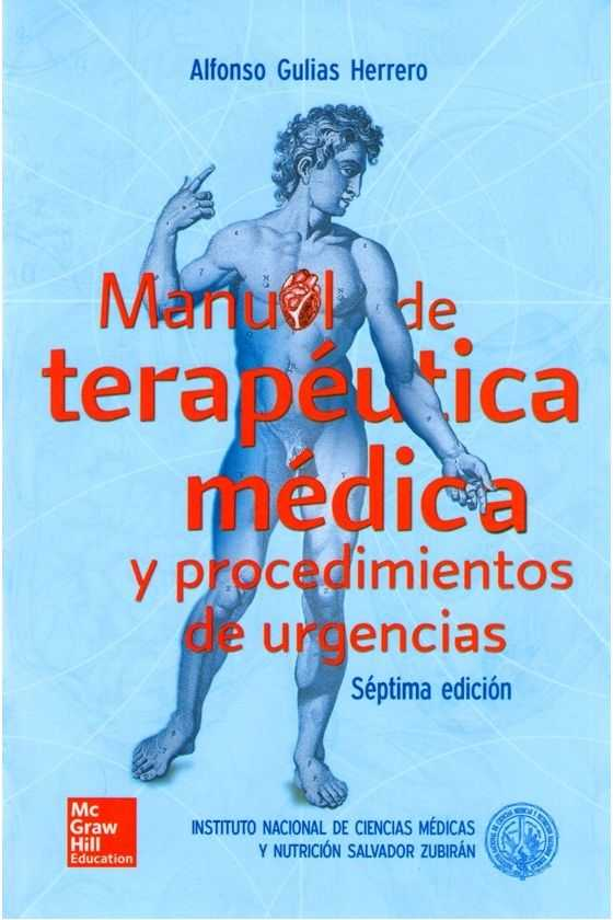 Manual de Terapéutica Médica  Zubirán